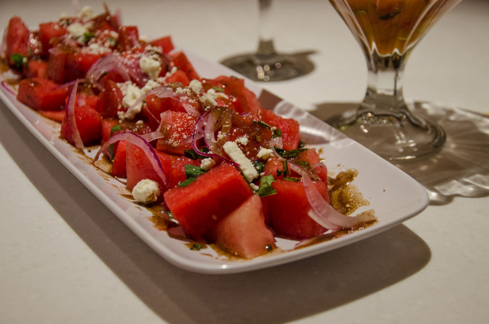 Watermelon-Salad-with-Basil-and-Feta-Cheese